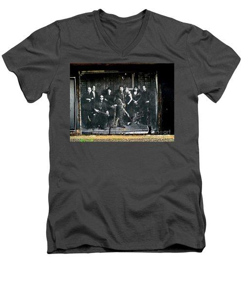 Bruce And The E Street Band Men's V-Neck T-Shirt