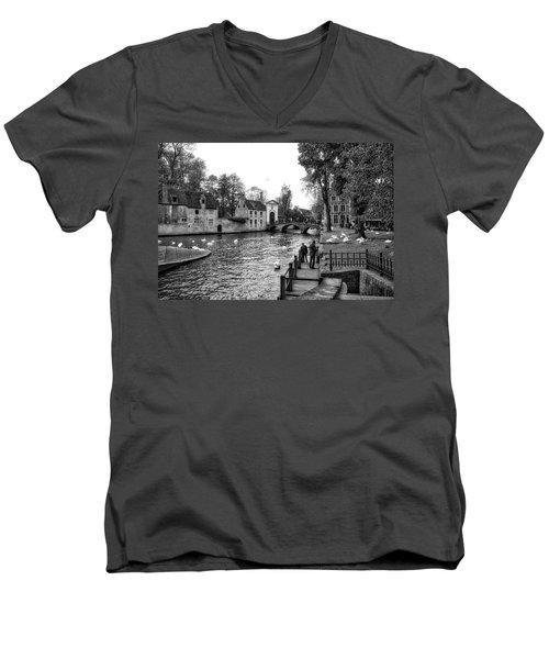 Bruges Bw3 Men's V-Neck T-Shirt