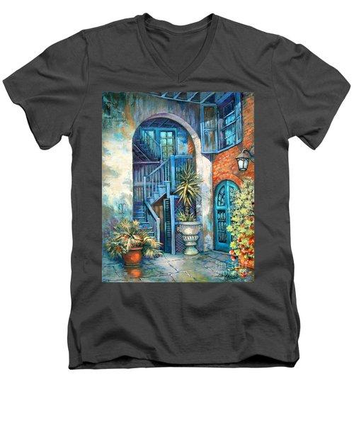 Brulatour Courtyard Men's V-Neck T-Shirt