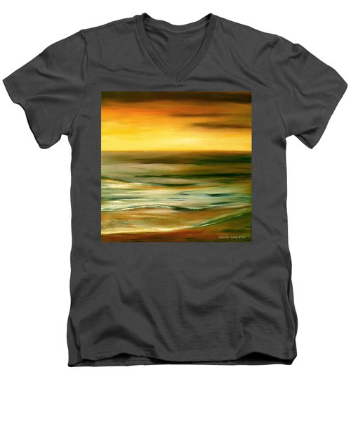 Brushed 7 Men's V-Neck T-Shirt