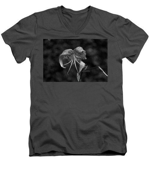 Brutally Beautiful Men's V-Neck T-Shirt by Michiale Schneider