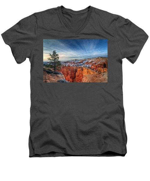 Bryce Canyon Sunrise Men's V-Neck T-Shirt