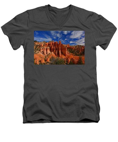 Bryce Hoodoos 2 Men's V-Neck T-Shirt