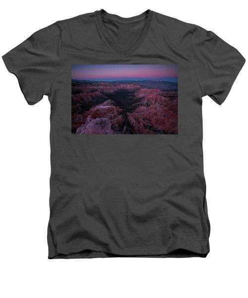 Bryce Point Men's V-Neck T-Shirt