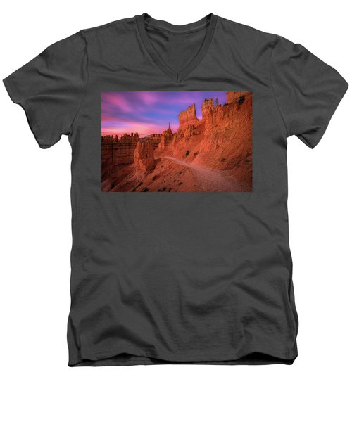 Bryce Trails Men's V-Neck T-Shirt