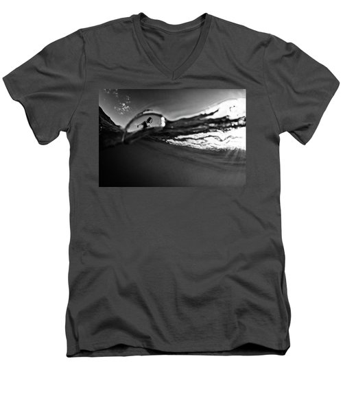 Bubble Surfer Men's V-Neck T-Shirt