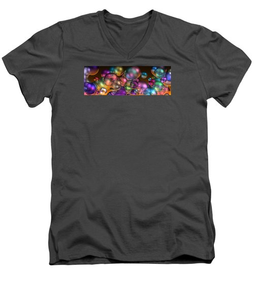 Bubbles Overall Men's V-Neck T-Shirt