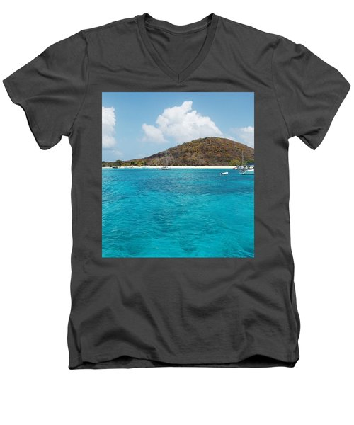 Buck Island Reef National Monument Men's V-Neck T-Shirt