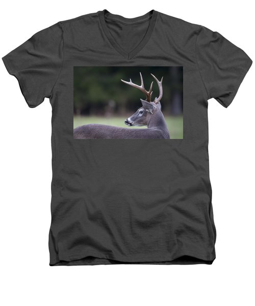 Buck Men's V-Neck T-Shirt