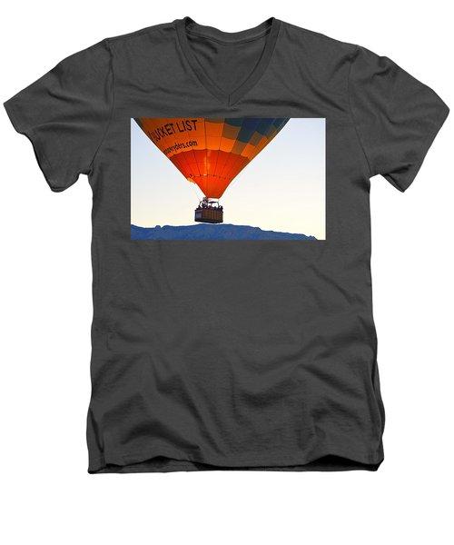 Men's V-Neck T-Shirt featuring the photograph Bucket List by AJ Schibig