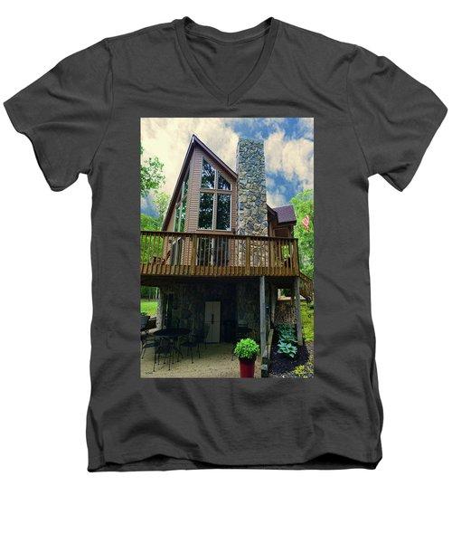 Buddy And Brenda Buckner Men's V-Neck T-Shirt