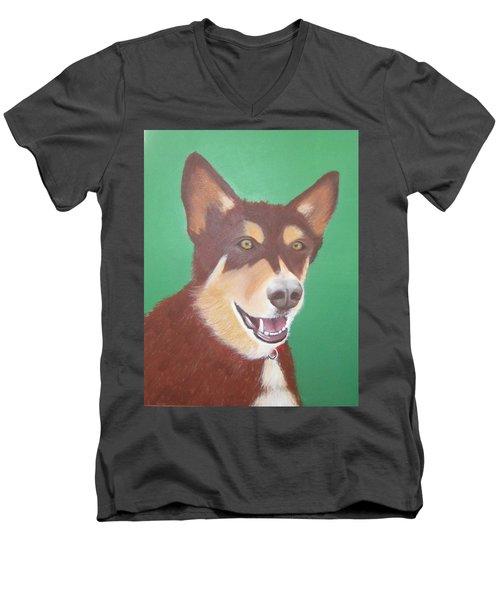 Buddy Men's V-Neck T-Shirt