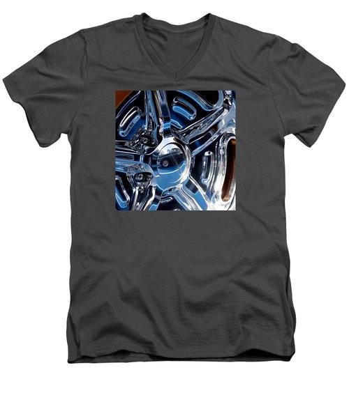 Budnik Wheel 01 Men's V-Neck T-Shirt