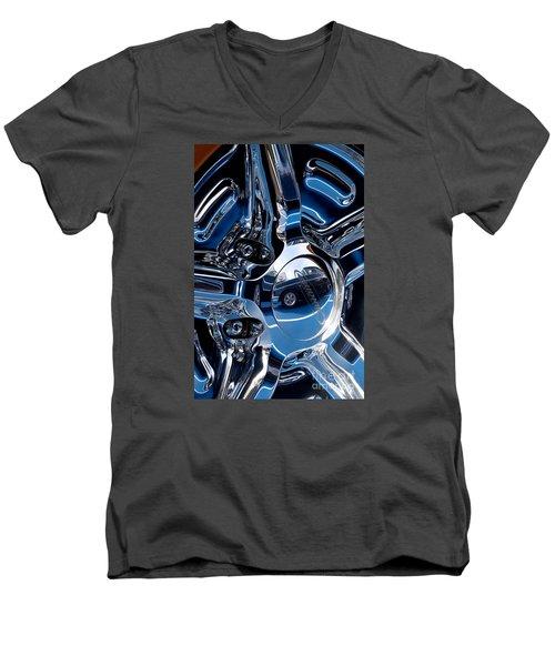 Budnik Wheel 03 Men's V-Neck T-Shirt