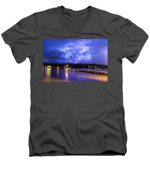 Buffalo Springs Lightning 1 Men's V-Neck T-Shirt