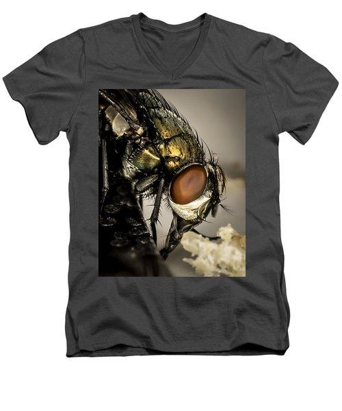 Bug On A Bug Men's V-Neck T-Shirt