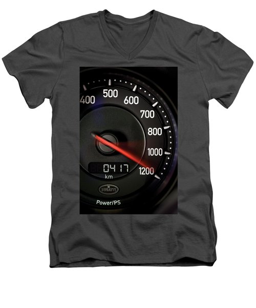 Bugatti Power /ps Men's V-Neck T-Shirt by Sheila Mcdonald