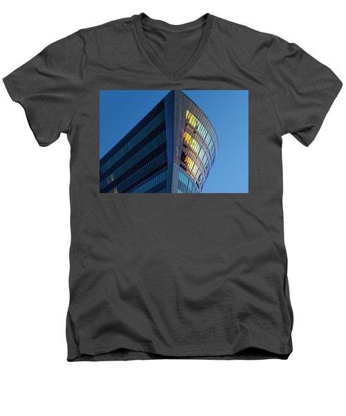 Building Floating In The Sky Men's V-Neck T-Shirt