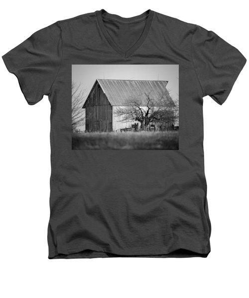 Built To Last Men's V-Neck T-Shirt