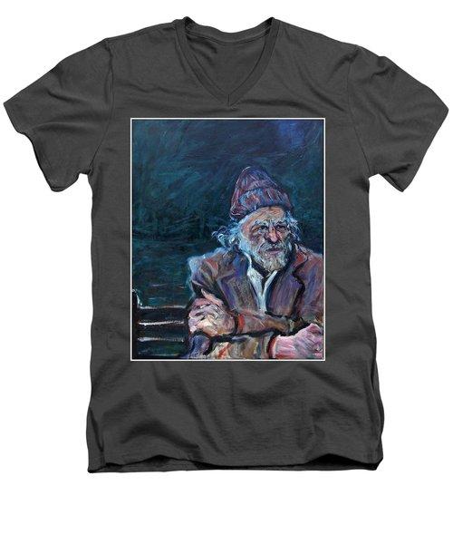 Bukowski Men's V-Neck T-Shirt