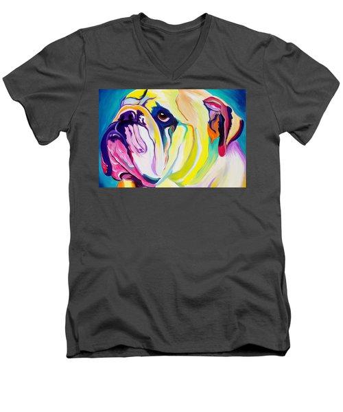 Bulldog - Bully Men's V-Neck T-Shirt