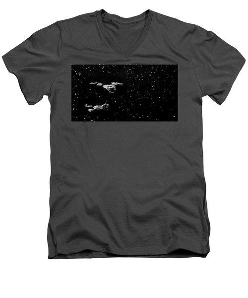 Bullfrog Men's V-Neck T-Shirt