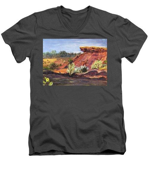 Bullock Reservoir Men's V-Neck T-Shirt