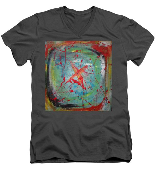 Bullseye Vision Men's V-Neck T-Shirt