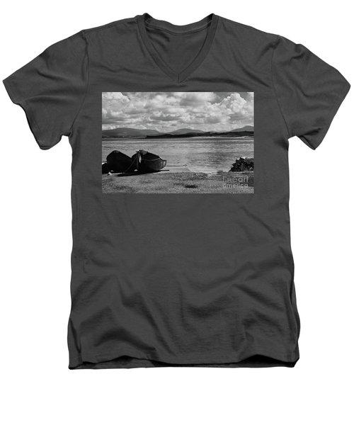 Bullsmouth Pier Achill Island Men's V-Neck T-Shirt