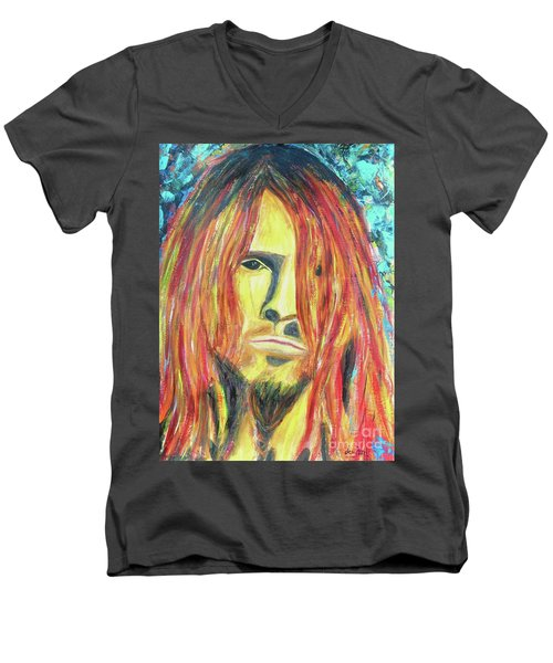 Bumblefoot Men's V-Neck T-Shirt