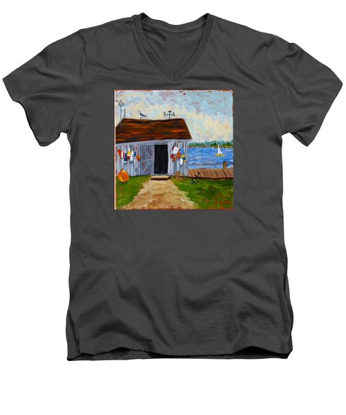 Buoys Will Be Buoys Men's V-Neck T-Shirt