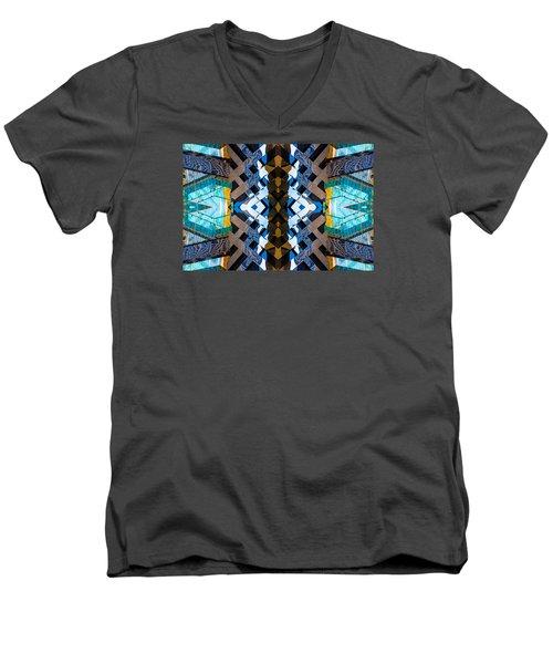 Burberry N83 V2 Men's V-Neck T-Shirt