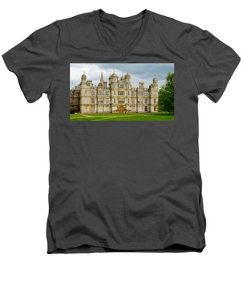 Burghley House Men's V-Neck T-Shirt