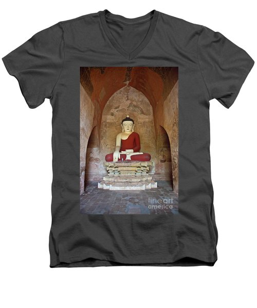 Burma_d2078 Men's V-Neck T-Shirt