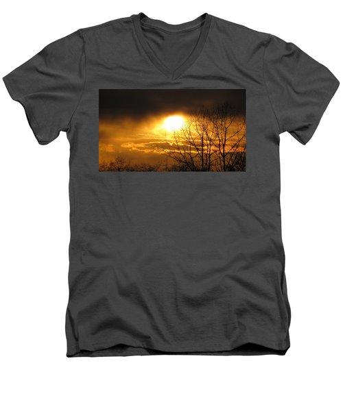 Burnaby Mountain Men's V-Neck T-Shirt