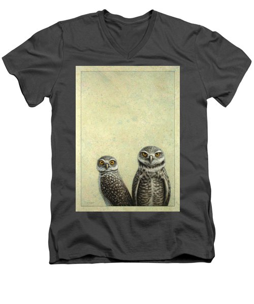 Burrowing Owls Men's V-Neck T-Shirt