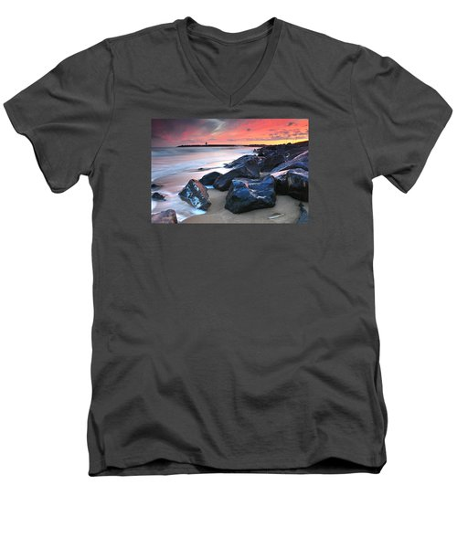 Burry Port 3 Men's V-Neck T-Shirt