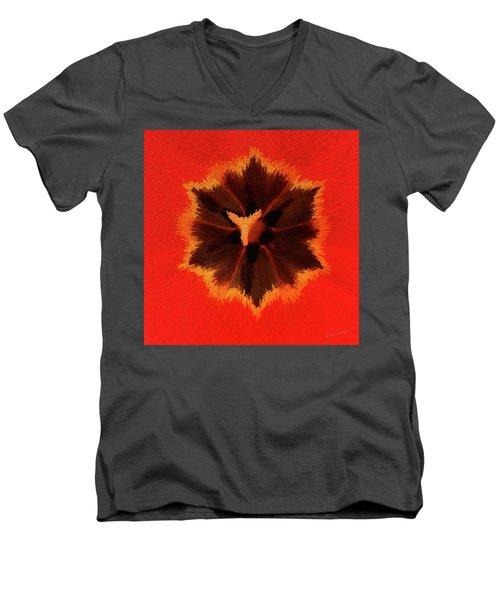Bursting Men's V-Neck T-Shirt
