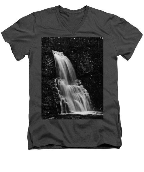 Bushkill Falls Men's V-Neck T-Shirt