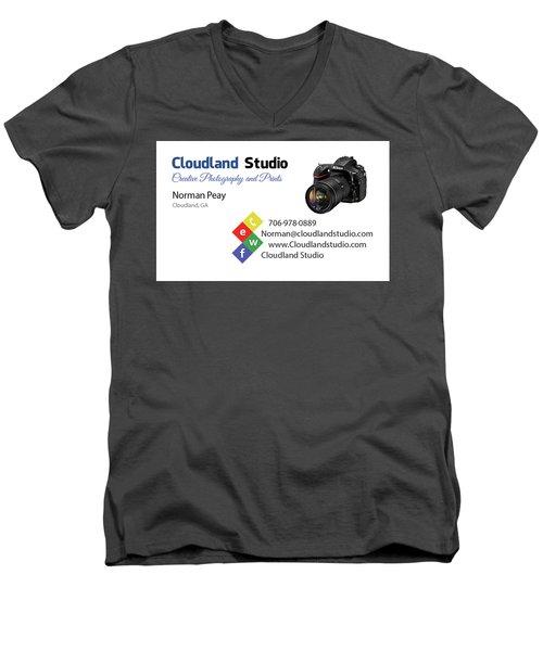 Business Card Men's V-Neck T-Shirt