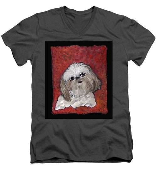 Buster Men's V-Neck T-Shirt