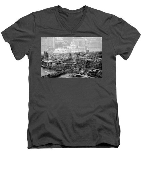 Busy London Men's V-Neck T-Shirt