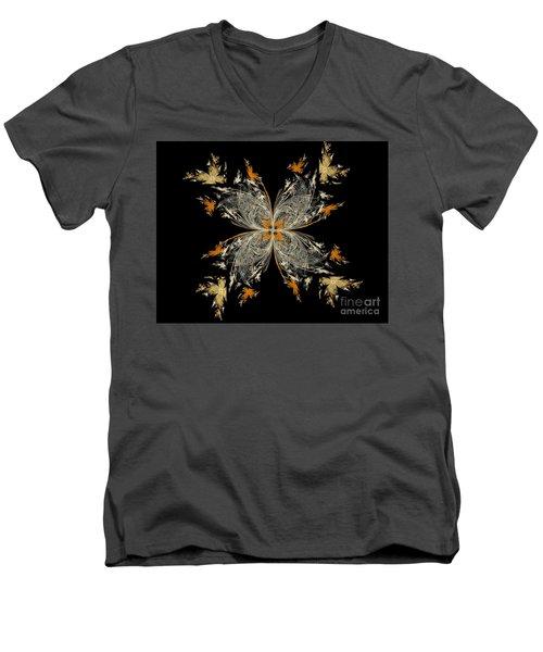butterfly - Digital Art Men's V-Neck T-Shirt