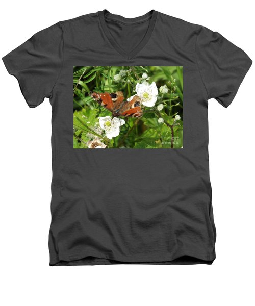 Butterflower Men's V-Neck T-Shirt