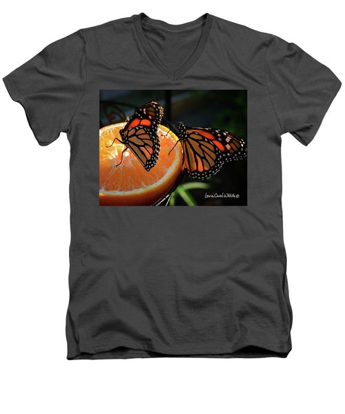 Butterfly Attraction Men's V-Neck T-Shirt