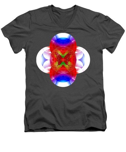 Butterfly Effect Men's V-Neck T-Shirt