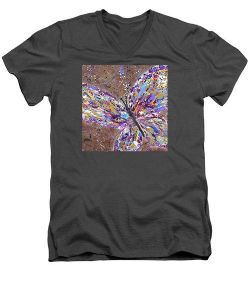 Butterfly Magic Men's V-Neck T-Shirt