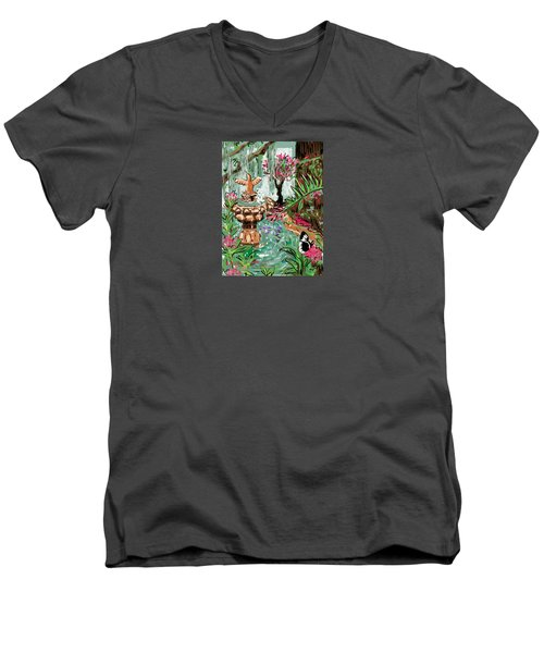 Butterfly World Men's V-Neck T-Shirt