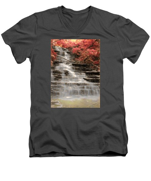 Buttermilk Falls Men's V-Neck T-Shirt