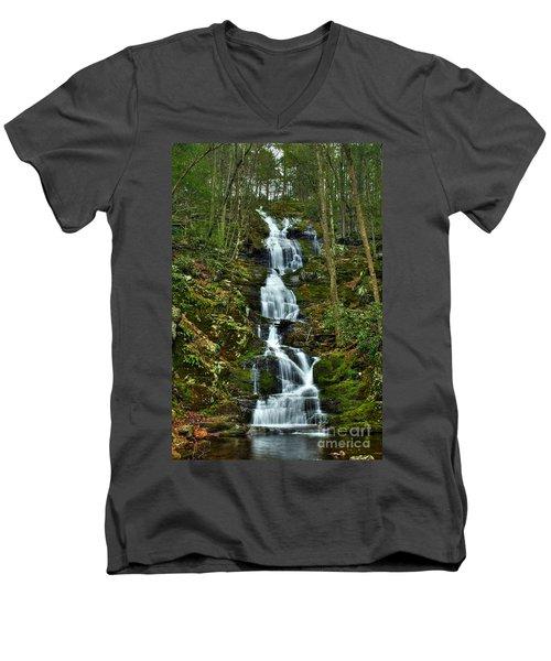 Buttermilk Falls Spring Men's V-Neck T-Shirt